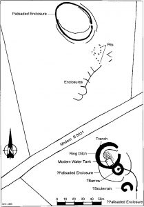 Aerial and geophysical evidence at East Coldoch Copyright D.J.Woolliscroft
